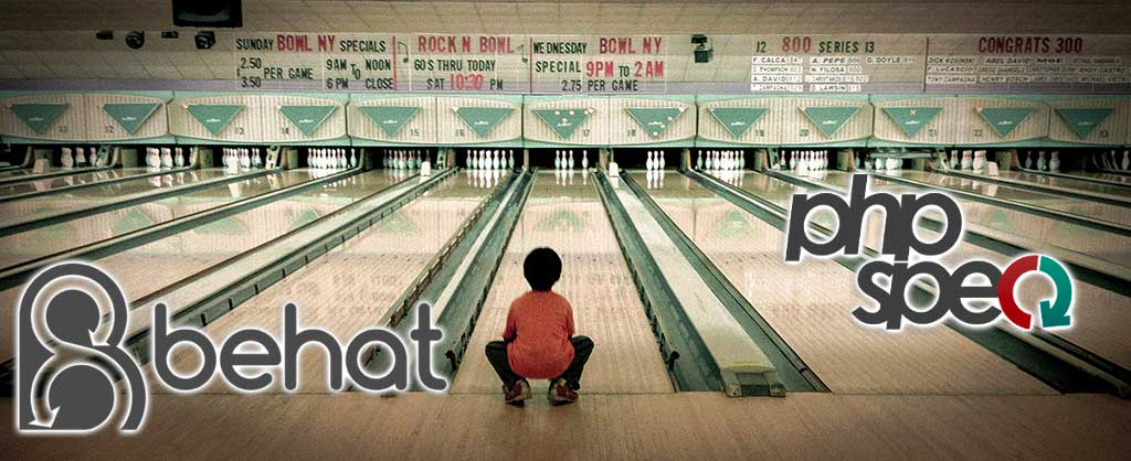 behat phpspec bowling kata